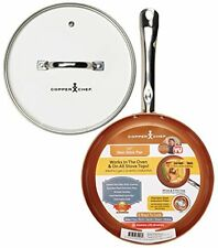 Pan Glass Lid Ceramic-Tech Cook without butter or oil Heat Resistant Up To 800
