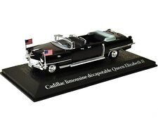 Model car DieCast Presidential Car 1959 Cadillac Queen Elizabeth II 1/43 metal