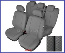 Grey Tailored Seat Covers Full Set For VW PASSAT (B6 B7) 2005 - 2015