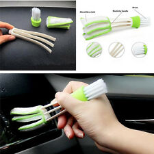 Car SUV Multi-Function Air Conditioning Outlet Double-Head Dust Cleaning Brush