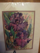 """Original Unframed Signed Approx. 7""""x10"""" Watercolor Painting by Mary E Cardin"""