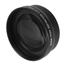 HD-TELEPHOTO ZOOM Lens With Macro For Canon Vixia HF R72 R700 R70 R600 R62 R60