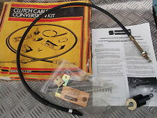 FORD ESCORT MK3 CORTINA MK5 SIERRA GRANADA  MANUAL CLUTCH CABLE CONVERSION KIT