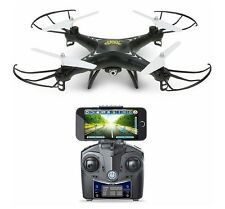 Holy Stone HS110W FPV Drone with 720P HD Live Video Wifi Camera 2.4GHz 4CH Gyro.