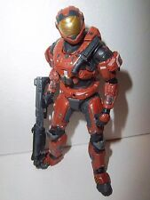 RARE!! Halo Reach Series 5 **RUST SPARTAN SECURITY** 100% Complete w/ Shotgun!!!
