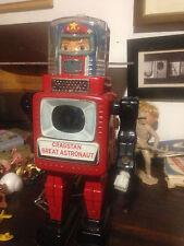 CRAGSTAN GREAT ASTRONAUT TIN TOY ROBOT - JAPAN