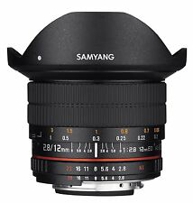 Brand New Samyang 12mm F2.8 Full Frame Fisheye Lens for SLR and DSLR Cameras