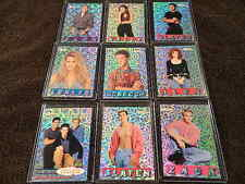 "1994 PACIFIC - SAVED BY THE BELL ""The College Years"" PRISM Chase Card Subset"