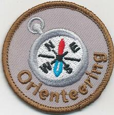 Girl Boy Cub ORIENTEERING Compass reading Patches Crests Badges SCOUTS GUIDES