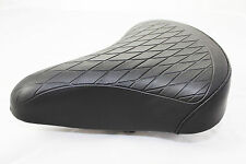 BICYCLE SADDLE VINTAGE RETRO STYLE BLACK LADIES WOMENS QUILTED SOFT BIKE SEAT