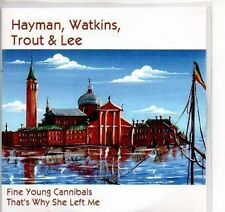 (P547) Hayman, Watkins, Trout & Lee, Fine Young - DJ CD