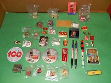 COCA COLA LOT OF PINS & MISC. ITEMS - 50 ALL TOGETHER