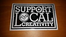 Flying Dog Brewery craft beer Support Local Creativity sticker Frederick MD