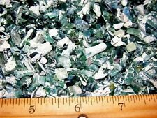 Tourmaline crystal blue green all natural with matrix 100 carat lots