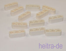 LEGO Technik - 12 x Liftarm 1x3, dick, weiss / White Liftarm Thick 32523 NEUWARE