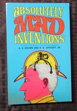 1970? ABSOLUTELY MAD INVENTIONS by Brown & Jeffcott SC Dover FVF