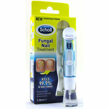 SCHOLL FUNGAL NAIL TREATMENT 3.8ml HIGHLY EFFECTIVE 99.9% KILLED NAIL FUNGUS