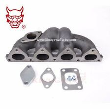 Turbo Exhaust Manifold HONDA Civic D15 D16 Keep AC & PS /T25 Flg w/ 38mm WG hole