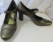 """""""FRANCO SARTO"""" LEATHER BROWN PUMPS SHOES - PLEASE SEE ALL PICTURES"""