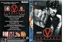 WWE:World Wrestling Entertainment-2003-W Vengeance- Wrestling WWE-DVD