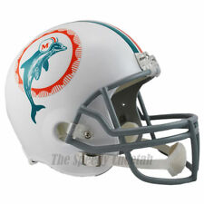 MIAMI DOLPHINS 1972 THROWBACK FOOTBALL HELMET – RIDDELL FULL SIZE REPLICA