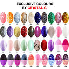 EXCLUSIVE Crystal-G Nail Gel Polish Choose Any 4 Colours FAST RECORDED DELIVERY