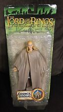 LORD OF THE RINGS LOTR COUNCIL LEGOLAS ACTION FIGURE TOYBIZ FELLOWSHIP RING