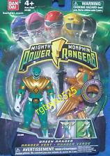 Mighty Morphin Power Rangers Green 4 inch with Light Up Dino Flyer 2010 New
