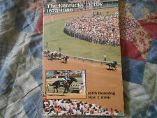 1986 KENTUCKY DERBY MEDIA GUIDE AD