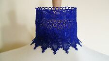 Blue Venise Lace Choker Victorian Necklace Medieval Steampunk Pagan Wedding