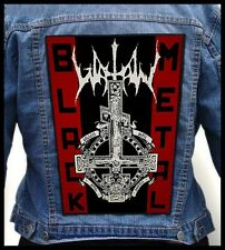 WATAIN - Black Metal  --- Giant Backpatch Back Patch