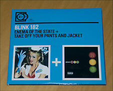 PACK 2 CD BLINK 182 ENEMA STATE TAKE OFF PANTS JACKET HARDCORE PUNK ROCK NOFX