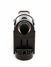 Nespresso Compatible Coffee Capsule Machine in Black and Chrome