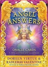 Doreen Virtue - Angel Answers Oracle Cards (2014) - New - Flash Cards