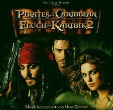 """HANS ZIMMER/OST """"FLUCH DER KARIBIK 2"""" SOUNDTRACK CD NEU"""