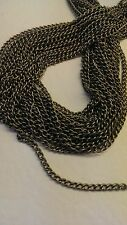 10 metres Antique Bronze Curb Chain Link-Soldered 4x3mm findings jewelery