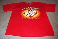 Las Vegas The City Of High Rollers Dice T-Shirt Mens XL