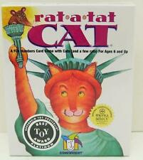 RAT A TAT CAT CARD GAME~GAMEWRIGHT~NEW & SEALED~BEST TOY AWARD~2 TO 6 PLAYERS