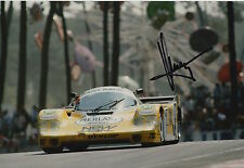 Klaus Ludwig Hand Signed 12x8 Photo Porsche Le Mans 4.