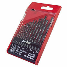 """LOOK"" 13pc HSS Drill Bit Set 1.5 - 6.5mm in Case Metal, Wood, Plastic. UK STOCK"