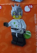 Lego 8804 Series 4 #16 Mad Doctor CRAZY SCIENTIST figure Minifigure Sealed pack
