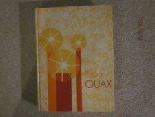 1965 Drake University Quax Yearbook - Nice! Unmarked!