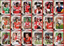 Arsenal 1987 Football League Cup final winners trading cards
