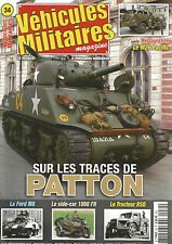 VEHICULES MILITAIRES N°34 REST. M26 PACIFIC / PATTON / FORD M8 / SIDE-CAR 1000FN