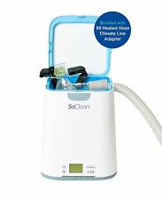 SoClean 2 CPAP Cleaner and Sanitizing Machine +  Respironics Heated Hose Adaptor