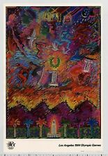 1982 Carlos Almaraz LOS ANGELES 1984 OLYMPIC GAMES rare Fine Art Series Poster