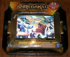 Redakai Championship Tin - 43 X-Drive FREE KY Card — Brand New Factory Sealed