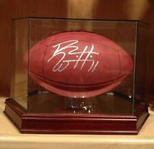 Roy Williams Signed Official Wilson NFL Leather On Field Game Football Ball COA