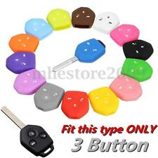 3Button Remote Key Cover Case For Subaru Impreza Legacy Outback Liberty Forester