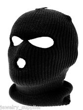 Knitted Black SAS Style Balaclava Cap Protect Blowing Sand Fishing Snowboard Ski